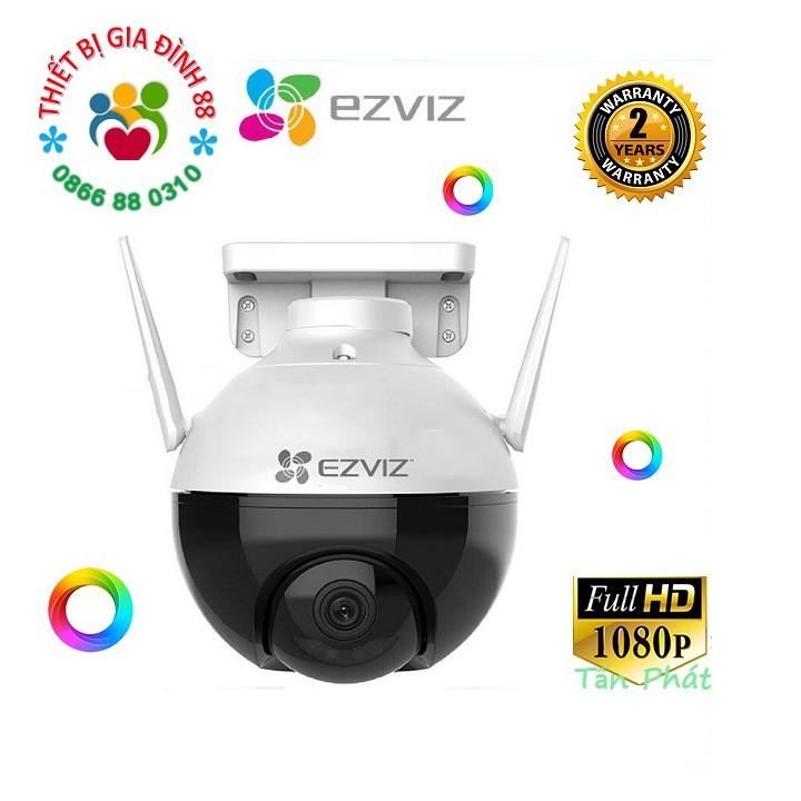 Camera 2Mp WIFI (Xoay) Ngoài Trời EZVIZ C8C Màu Ban Đêm Thông Minh 1080P c3wn c3w c6n c6cn a22ep c22ep F22P F22FP