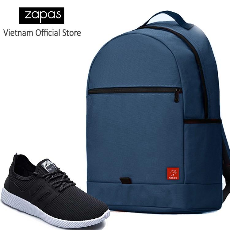 Combo Balo Du Lịch Glado Classical BLL006 (Xanh Dương) Và Giày Sneaker Thể Thao Zapas GS068 (Đen) - 2999222 , 533991935 , 322_533991935 , 550000 , Combo-Balo-Du-Lich-Glado-Classical-BLL006-Xanh-Duong-Va-Giay-Sneaker-The-Thao-Zapas-GS068-Den-322_533991935 , shopee.vn , Combo Balo Du Lịch Glado Classical BLL006 (Xanh Dương) Và Giày Sneaker Thể Thao