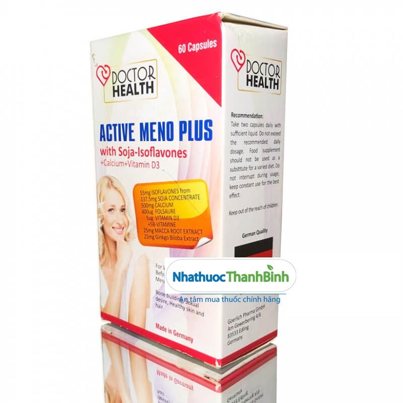 Active Meno Plus Hộp 60 viên hỗ trợ cân bằng nội tiết tố nữ