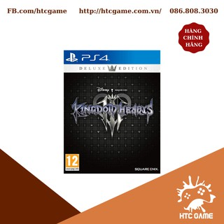Đĩa Game PS4 KINGDOM HEARTS III DELUXE EDITION - New Nguyên Seal thumbnail
