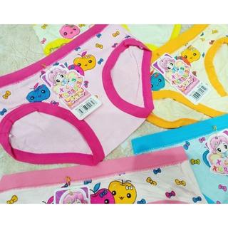 Quần chip, quần lót cho bé gái họa tiết hình cute hàng cotton đẹp100% ( loại chéo ống quần) thumbnail