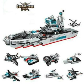 [Mã TOY1212 giảm 10% tối đa 25K đơn bất kỳ] Lego 8 trong 1 Enlighten 1411 – mô hình chiến hạm