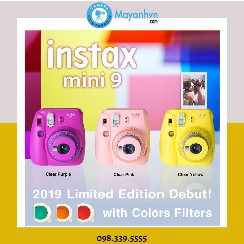 Máy chụp ảnh lấy ngay Fujifilm Instax Mini 9 Clear ( Chính hãng- Phiên bản giới hạn- Bảo hành 12 tháng)
