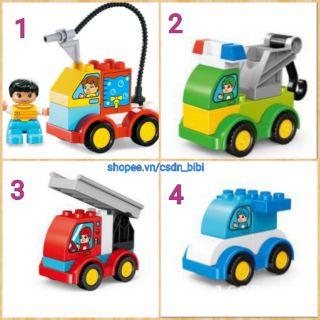 Smoneo - Lego xe lắp ráp sáng tạo tương thích lego duplo thumbnail