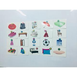 flashcard chủ đề đồ vật quanh bé