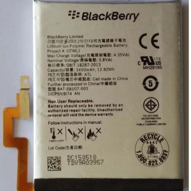 Pin Blackberry Passport và Silver zin bóc máy