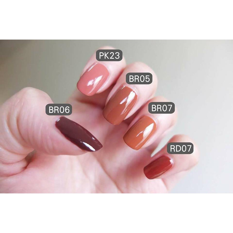 Sơn móng tay 3ce mood recipe long lasting nail lacquer