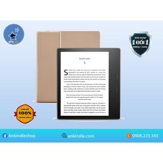 Máy đọc sách Kindle Oasis 3 – gen 10th – chính hãng Amazon – new 100% – màn hình vàng warmlight – chống nước
