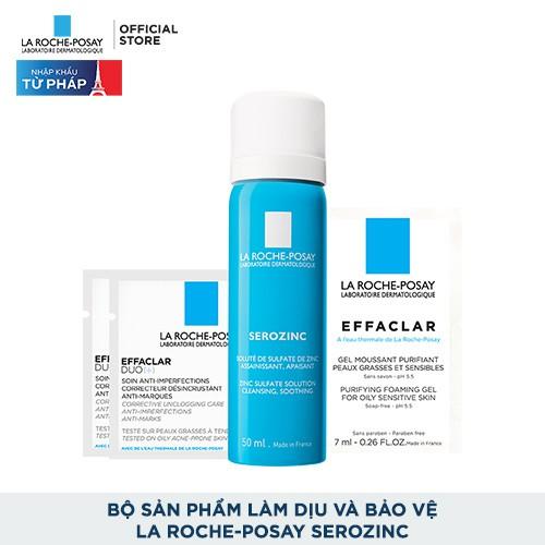 Bộ sản phẩm làm dịu và bảo vệ La Roche-Posay Serozinc