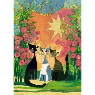 Bộ Xếp Hình Đồ Chơi Hình Chú Mèo Vàng Hồng