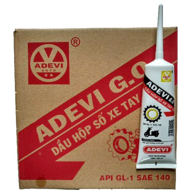 Dầu hộp số Adevi cho xe tay ga (nhớt Láp lap Devi go)