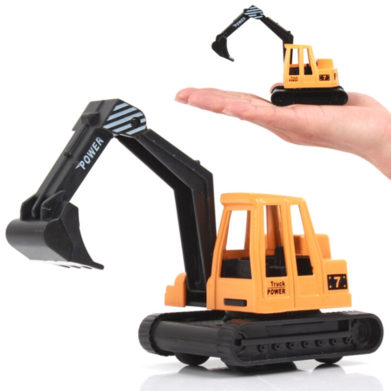 ☽Miniature 1:64 Scale Car Model Toy Forklift Truck Vehicle Children Kids Play Toy