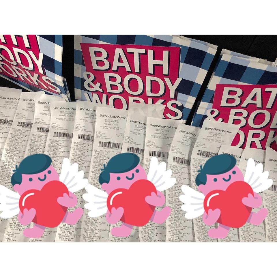ĐƯỢC CHỌN MÙI - BBW gel rửa tay khô Bath & Body Works 29ml - có sẵn