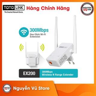 Bộ Kích Sóng Wifi Totolink EX200 chuẩn N 300Mbps - Hàng Chính Hãng thumbnail