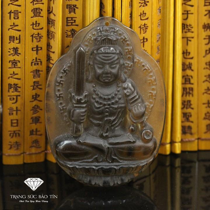 Mặt Dây Chuyền Phật Bất Động Minh Vương Khói Cao Cấp - Bảo Tín