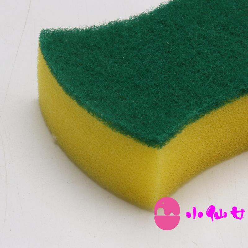 Scouring cloth dish cloth brush pot dish towel sponge artifact kitchen sponge non-stick oil rag 10 packs