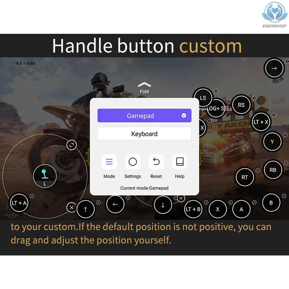 Tay Cầm Chơi Game Không Dây Mocute 058 Bluetooth V3.0 Cho Điện Thoại Android
