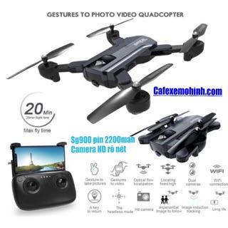 Flycam sg900ss pin nâng cấp 2200mah camera HD bay đến 22p