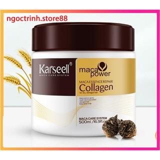 [ Karseell ] Kem hấp ủ tóc karseell siêu phục hồi Tóc hư tổn hũ 500ml