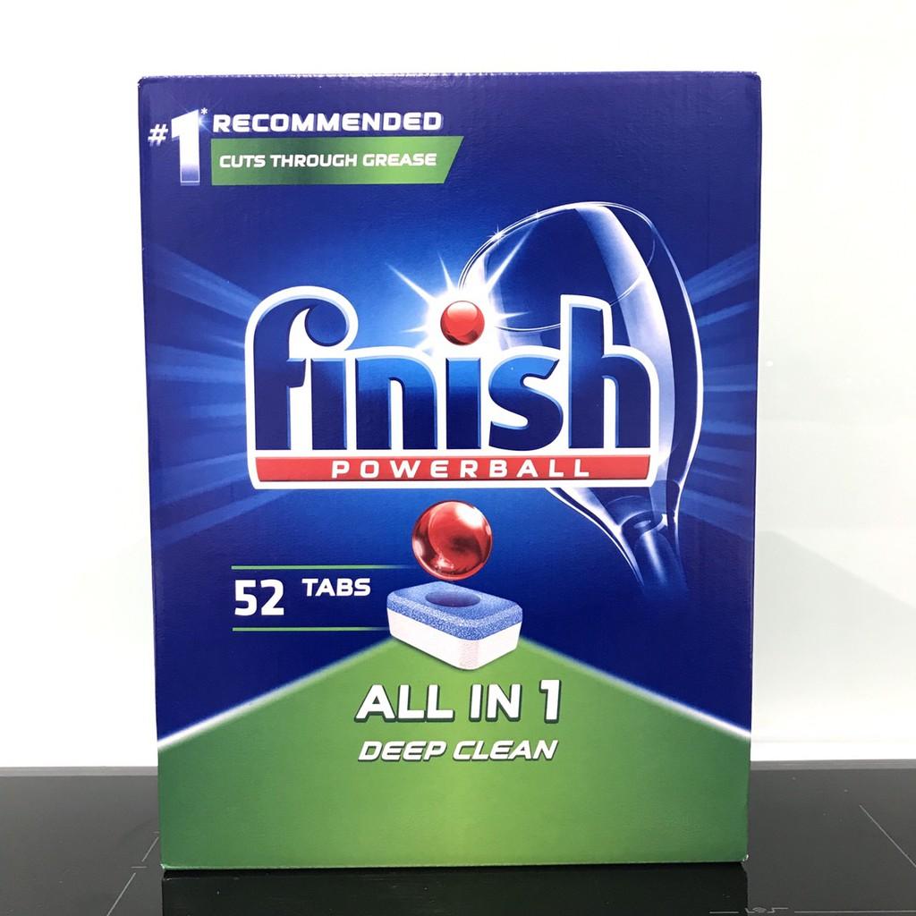 Viên rửa bát Finish All-In-1 52 viên/ hộp