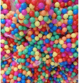 1000 quả bóng nhựa đủ màu cho bé yêu loại 5cm