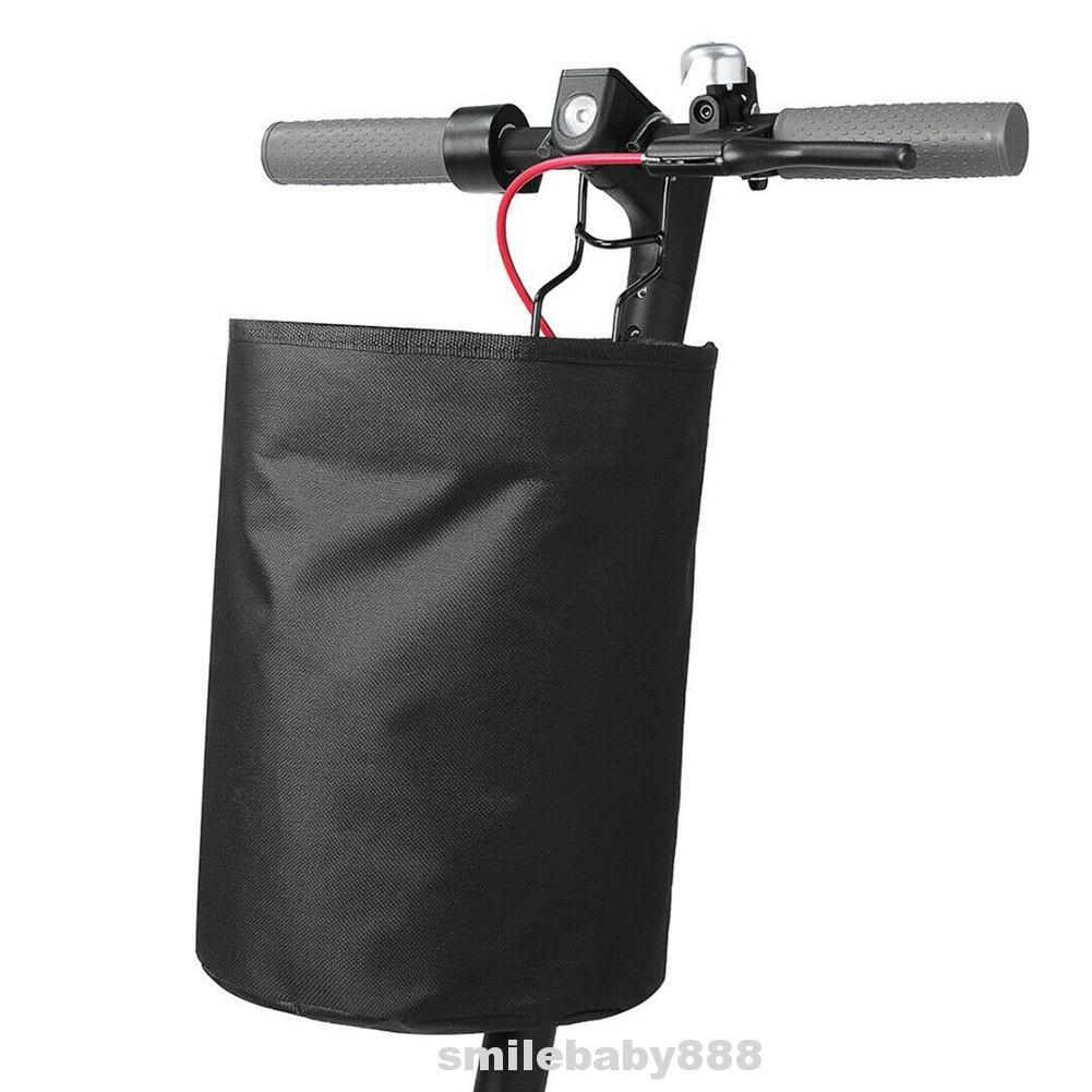 Bicycle Quick Release zipper Bike Basket for Front Extra Storage bags