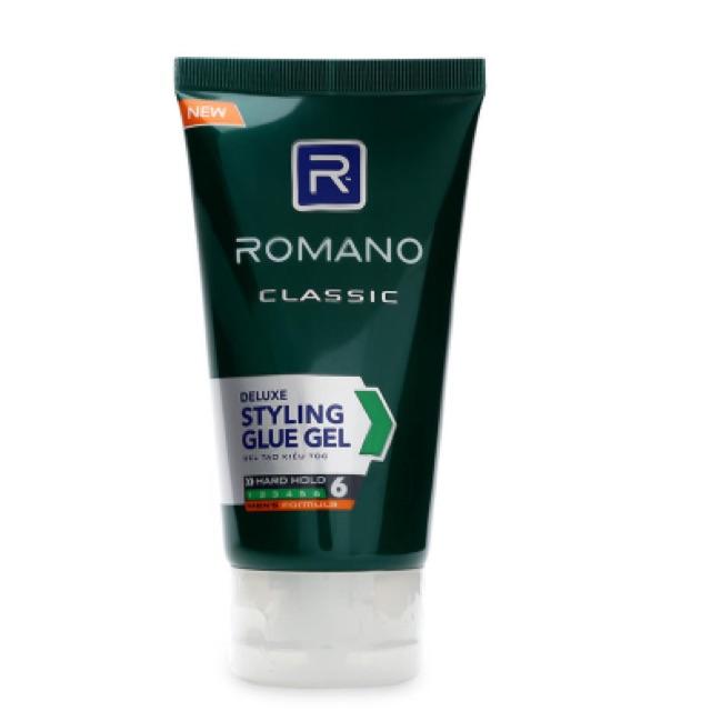 Gel tạo kiểu tóc Romano 150g