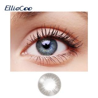 Cặp kính áp tròng EllieCoo màu xám thuộc dòng Rainbow chống tia cực tím tinh chất Axit Hyaluronic thumbnail