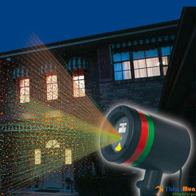 (Sale)Đèn chiếu tia lazer trang trí đón noel và tết.
