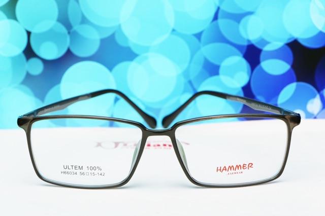 GỌNG KÍNH CẬN NhỰA ULTEM HAMMER | HM-66034