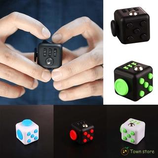 Mới Đồ Chơi Fidget Cube Bằng Vinyl Giúp Giảm Căng Thẳng Cho Người Lớn Và Trẻ Em