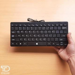 Bàn phím cổng USB cho Laptop, PC, Macbook – Keyboard mini nhỏ gọn