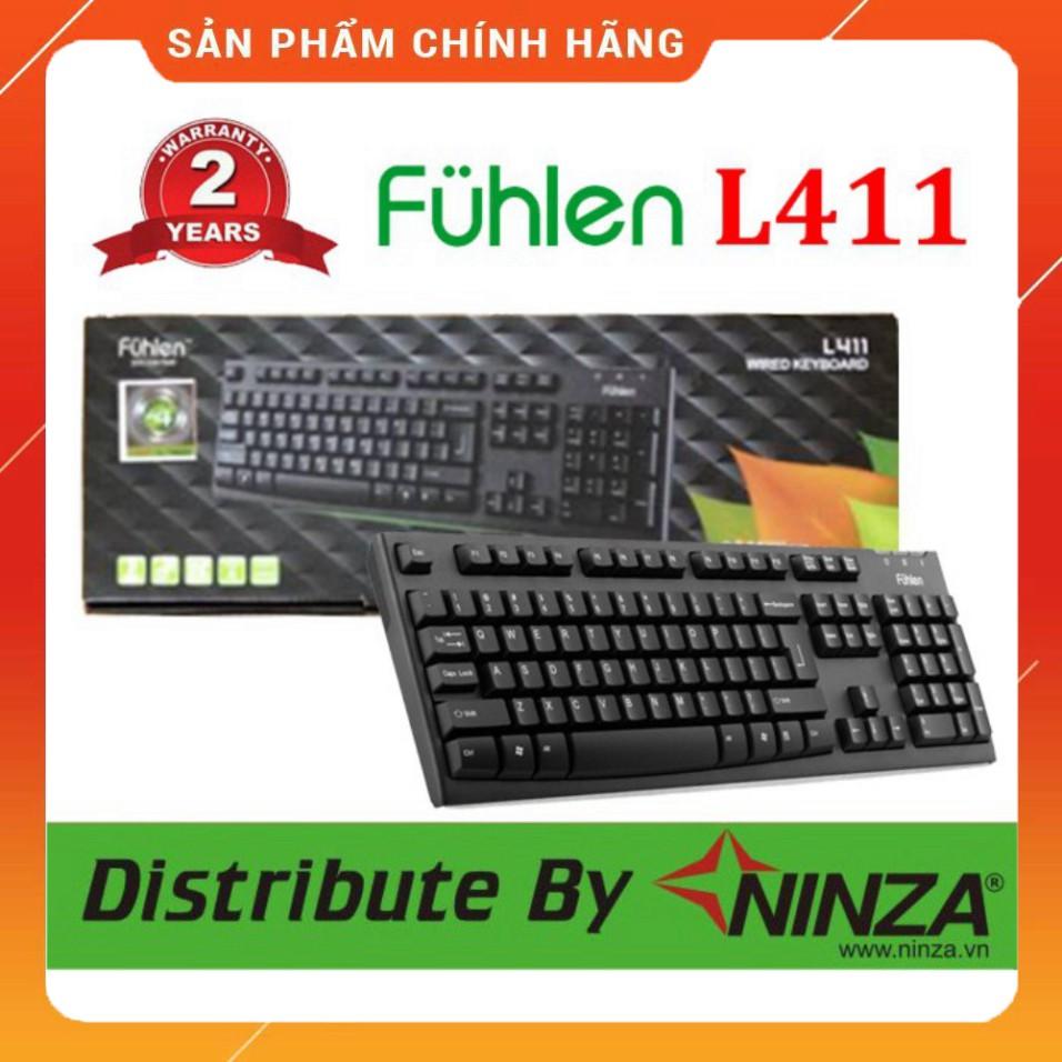 (Hot) Bàn phím Fuhlen L411 bảo hành 2 năm chính hãng Ninza