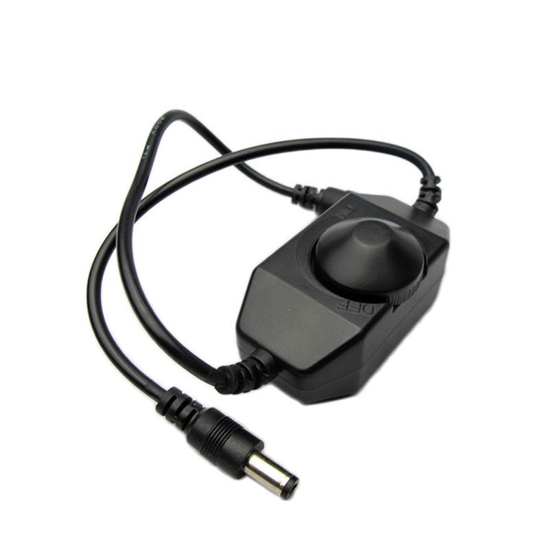 LED Dimmer Switch Brightness Adjust Controller for 3528 5050 5730 5630 Single Color Strip Light DC