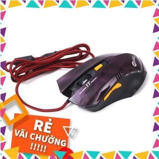 Chuột Máy Tính Có Dây Kết Nối USB JEWAY JW-6023 tặng tấm lót chuột màu ngẫu nhiên thumbnail