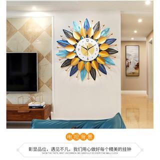 Đồng hồ treo treo tường trang tri nhà làm quà tặng tân gia , cho khách sạn cho phòng spa rất sành điệu .