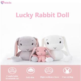 LE 30cm cute rabbit plush toy super soft plush animal toy baby companion sleep toy lele