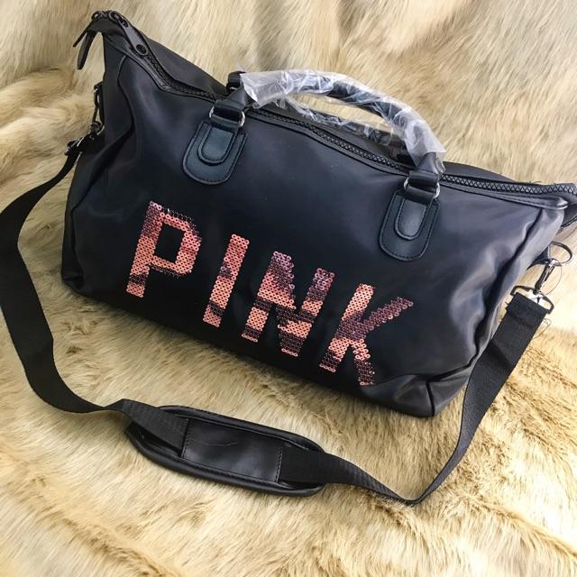 Túi xách Pink du lịch tập gym tiện lợi - mã T07