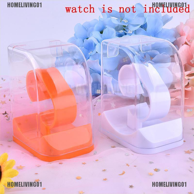 【homeliving01】Acrylic Watch Display Holder Case watch Showcase Tool Transparen