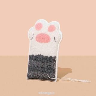Bông tắm hình chân mèo dễ thương xinh xắn