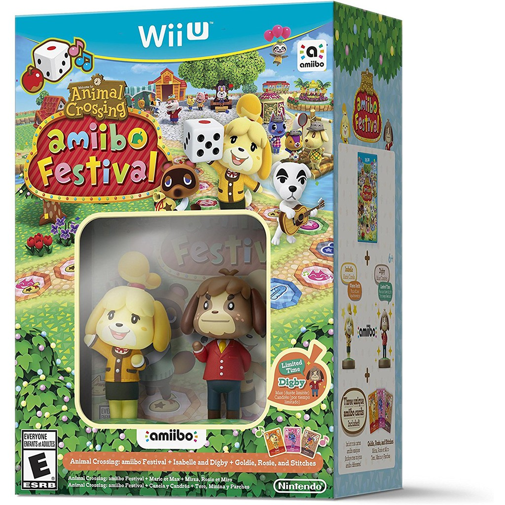 Amiibo Animal Crossing - Isabelle & Digby