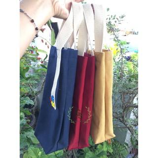 Túi Vải Đựng Bình Nước, Bình Giữ Nhiêt, Ly Giữ Nhiệt Thái Lan Từ 900ml trở lên Giá Rẻ – Tặng nút gỗ ngộ nghĩnh