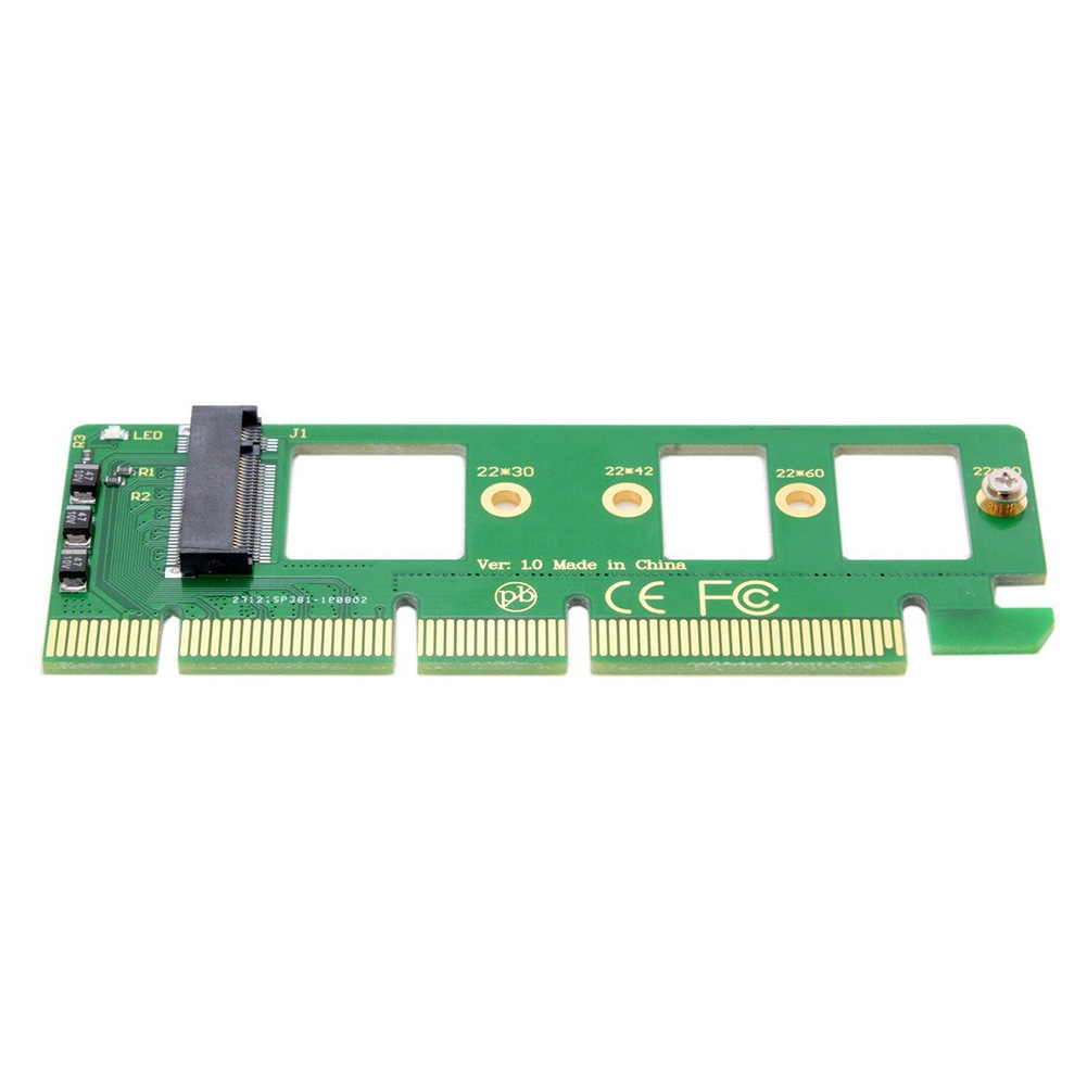 A110 XP941 PM951 Accessories Durable Computer M.2 NVME To PCI-E X4 SM951 Desktop Drive Adapter Card Giá chỉ 62.000₫