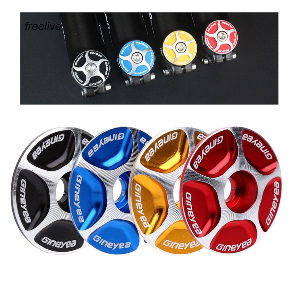 FLE_28.6mm Threadless Road MTB Bike Bicycle Stem Accessories Headset Top Cap Cover