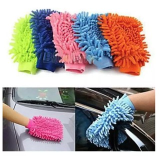 Găng tay chuyên dụng lau rửa xe hơi, ô tô đa năng - MKAC thumbnail