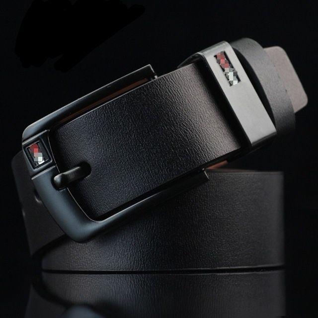 Thắt lưng nam dây lưng da nam dây nit 2019 có sẵn mới về