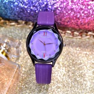 [NEW ARRIVAL] Đồng hồ nữ Doukou chính hãng mặt vát 3d dây da sọc mẫu mới hot thumbnail