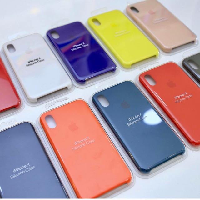 Ốp Lưng Silicon iPhone X, Xs, Xr, Xs Max Hàng Zin Apple - Thời Trang, Chống Sốc