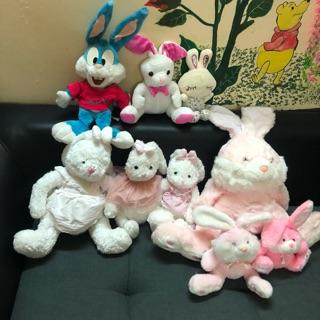 Combo thỏ bông xinh 20-50cm