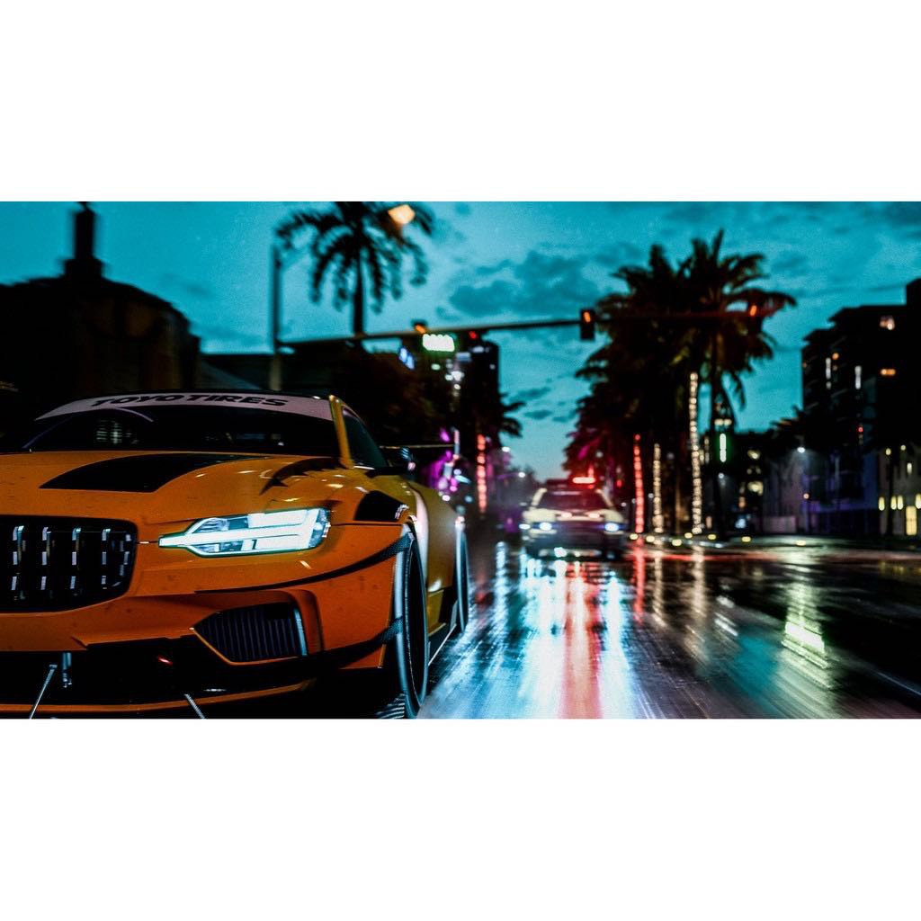 Đĩa Game PS4  - Need For Speed Heat Hệ US